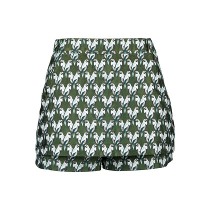 Authentic Second Hand Maje Iparo Brocade Skorts (PSS-424-00128)