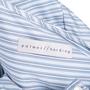 Authentic Second Hand Palmer//Harding Waterfall Hem Cotton Shirt (PSS-051-00463) - Thumbnail 2