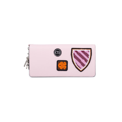 Authentic Pre Owned Christian Dior Patch Appliqué Diorissimo Voyageur Wallet (PSS-600-00003)