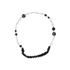 Faux Pearl and Beads Headband