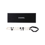 Authentic Second Hand Chanel Faux Pearl and Beads Headband (PSS-600-00009) - Thumbnail 1