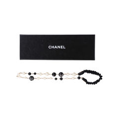 Chanel faux pearl and beads headband 2?1546098625