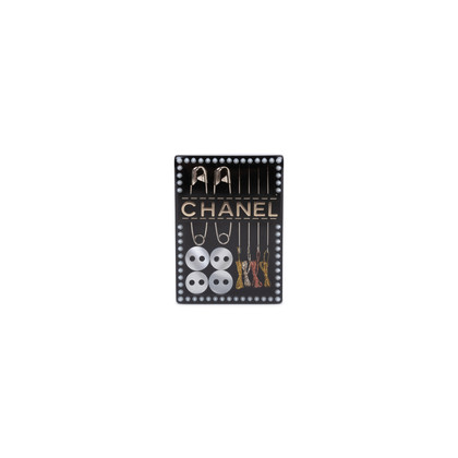 Authentic Pre Owned Chanel Sewing Kit Brooch (PSS-600-00010)
