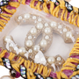 Authentic Second Hand Chanel Fall 2014 Faux Pearl Necklace (PSS-600-00012) - Thumbnail 4