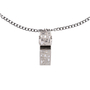 Authentic Second Hand Chanel Whistle Pendant Necklace (PSS-600-00011) - Thumbnail 2