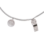 Authentic Second Hand Chanel Whistle Pendant Necklace (PSS-600-00011) - Thumbnail 3