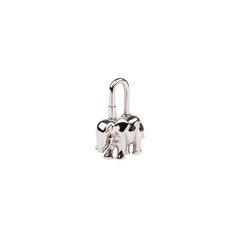 Hermes elephant cadena lock charm 2?1546407153