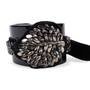 Authentic Pre Owned Fendi Leaf Embellished Cuff (PSS-424-00126) - Thumbnail 4