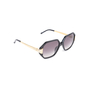Authentic Pre Owned Linda Farrow Luxe LFLKID4 Hexagonal Sunglasses (PSS-073-00018) - Thumbnail 1