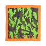 Authentic Second Hand Valentino Camo Silk Scarf (PSS-556-00026) - Thumbnail 0