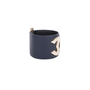 Authentic Pre Owned Chanel CC Leather Cuff Bracelet (PSS-595-00002) - Thumbnail 2