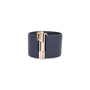 Authentic Pre Owned Chanel CC Leather Cuff Bracelet (PSS-595-00002) - Thumbnail 3