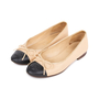Authentic Pre Owned Chanel Two Toned Ballerina flats (PSS-595-00008) - Thumbnail 3