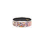 Authentic Second Hand Hermès Abstract Enamel Bangle (PSS-595-00003) - Thumbnail 4