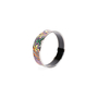 Authentic Pre Owned Hermès Abstract Enamel Bangle (PSS-595-00003) - Thumbnail 6