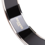 Authentic Pre Owned Hermès Abstract Enamel Bangle (PSS-595-00003) - Thumbnail 9