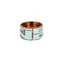 Authentic Pre Owned Fendi Tortoiseshell Fendi Logo Bangle (PSS-595-00007) - Thumbnail 0