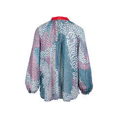 Tsumori chisato printed silk top 2?1546589125