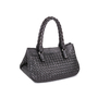 Authentic Pre Owned Bottega Veneta Embossed Intrecciato Leather Tote Bag (PSS-594-00003) - Thumbnail 1