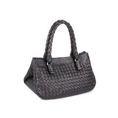 Bottega veneta embossed intrecciato leather tote bag 2?1546843357