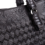 Authentic Pre Owned Bottega Veneta Embossed Intrecciato Leather Tote Bag (PSS-594-00003) - Thumbnail 4