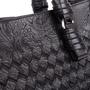 Authentic Second Hand Bottega Veneta Embossed Intrecciato Leather Tote Bag (PSS-594-00003) - Thumbnail 4