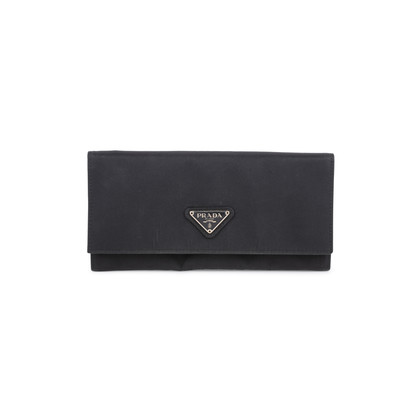 Authentic Second Hand Prada Foglio Tessuto Long Wallet (PSS-594-00005)