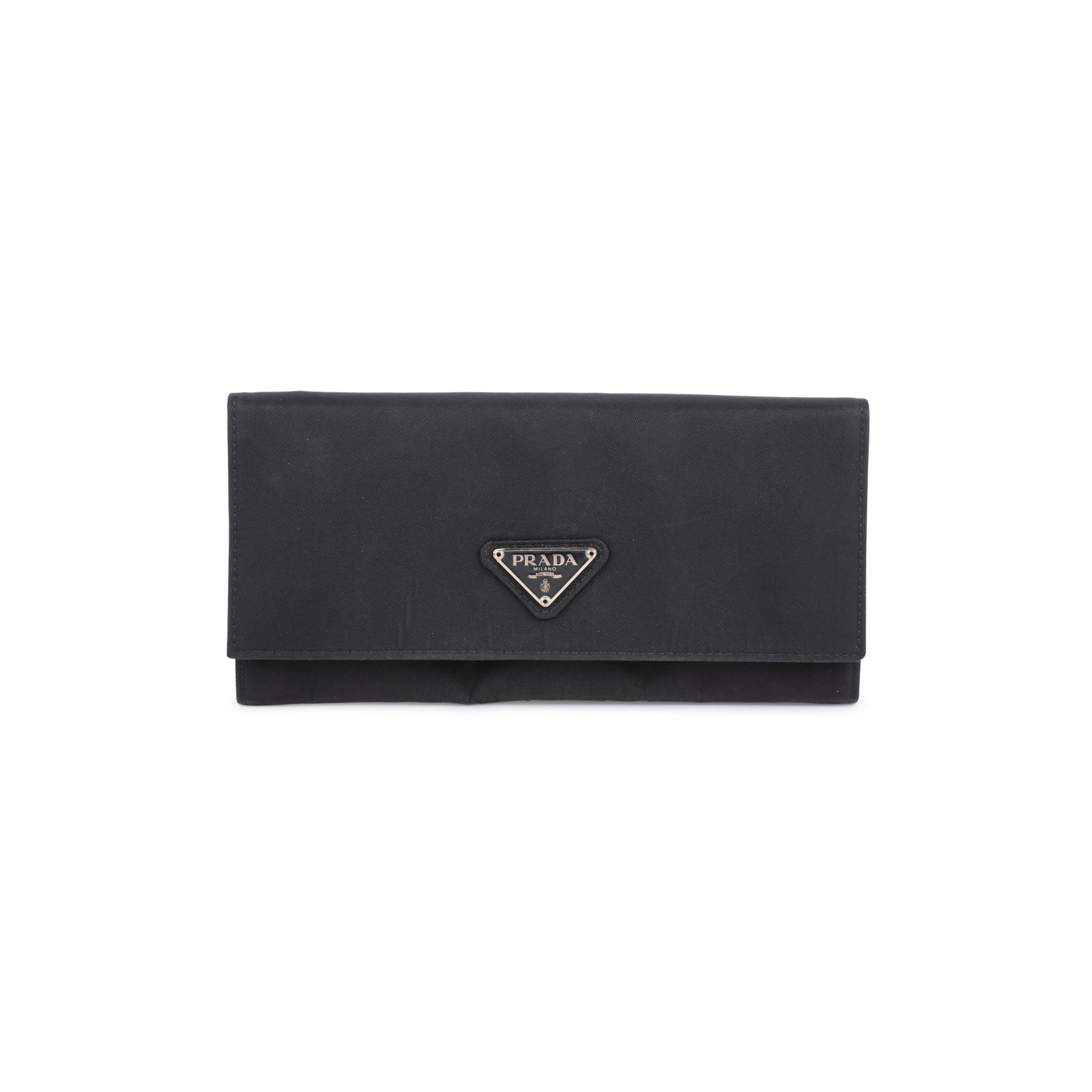 8c8a9b4143 Authentic Second Hand Prada Foglio Tessuto Long Wallet (PSS-594-00005) |  THE FIFTH COLLECTION