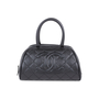 Authentic Second Hand Chanel Quilted Caviar Bowler Tote Bag (PSS-594-00009) - Thumbnail 0