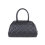 Authentic Second Hand Chanel Quilted Caviar Bowler Tote Bag (PSS-594-00009) - Thumbnail 2