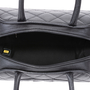 Authentic Second Hand Chanel Quilted Caviar Bowler Tote Bag (PSS-594-00009) - Thumbnail 4