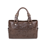 Authentic Pre Owned Céline Boogie Embossed Leather Tote Bag (PSS-594-00015) - Thumbnail 0