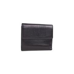 Jean paul gaultier black embossed leather wallet 1?1546843973