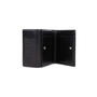 Authentic Pre Owned Jean Paul Gaultier Black Embossed Leather Wallet (PSS-594-00016) - Thumbnail 4