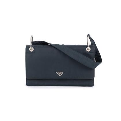 Authentic Pre Owned Prada Borsa Tessuto Shoulder Bag (PSS-594-00018)