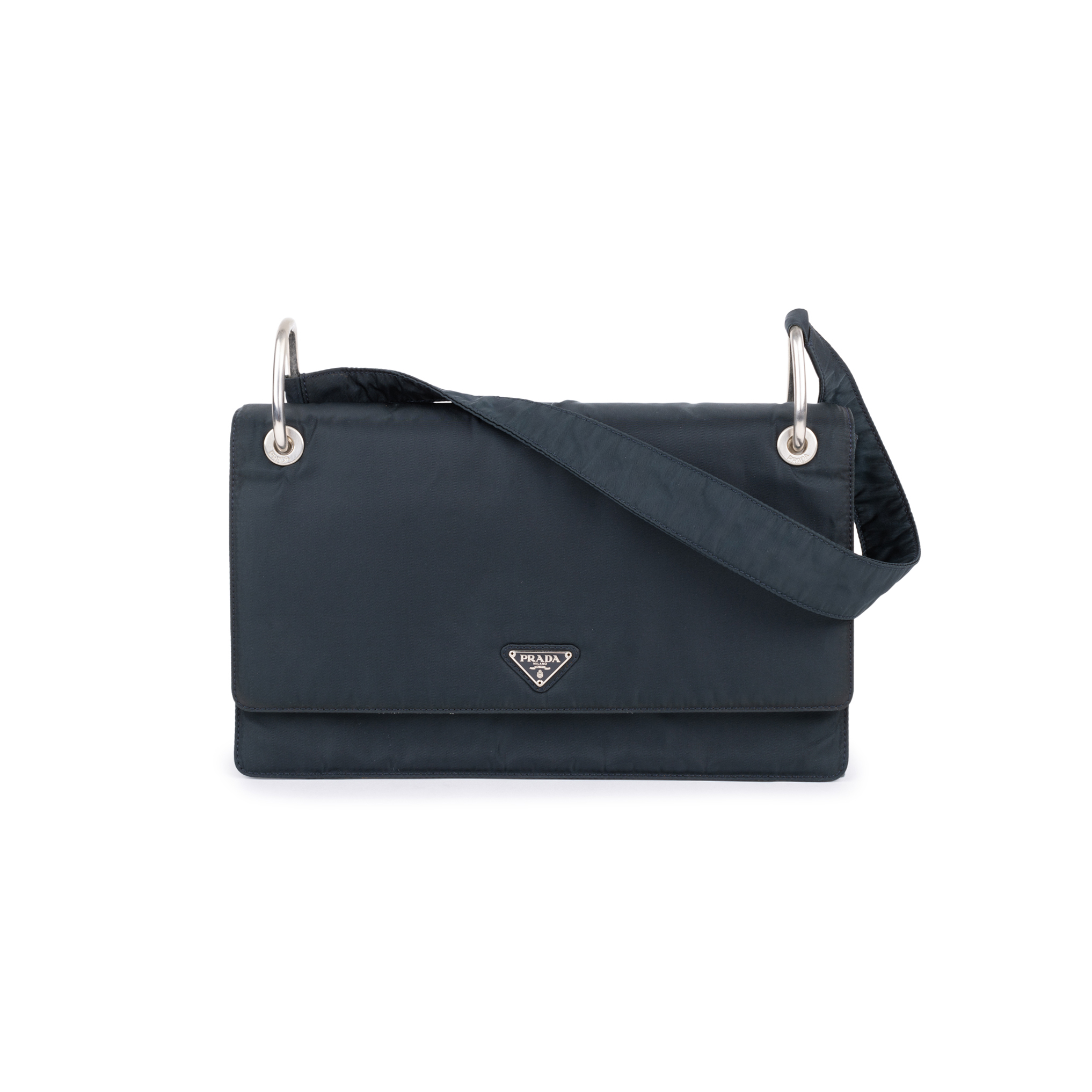 3d42b27a44 Authentic Second Hand Prada Borsa Tessuto Shoulder Bag (PSS-594-00018)