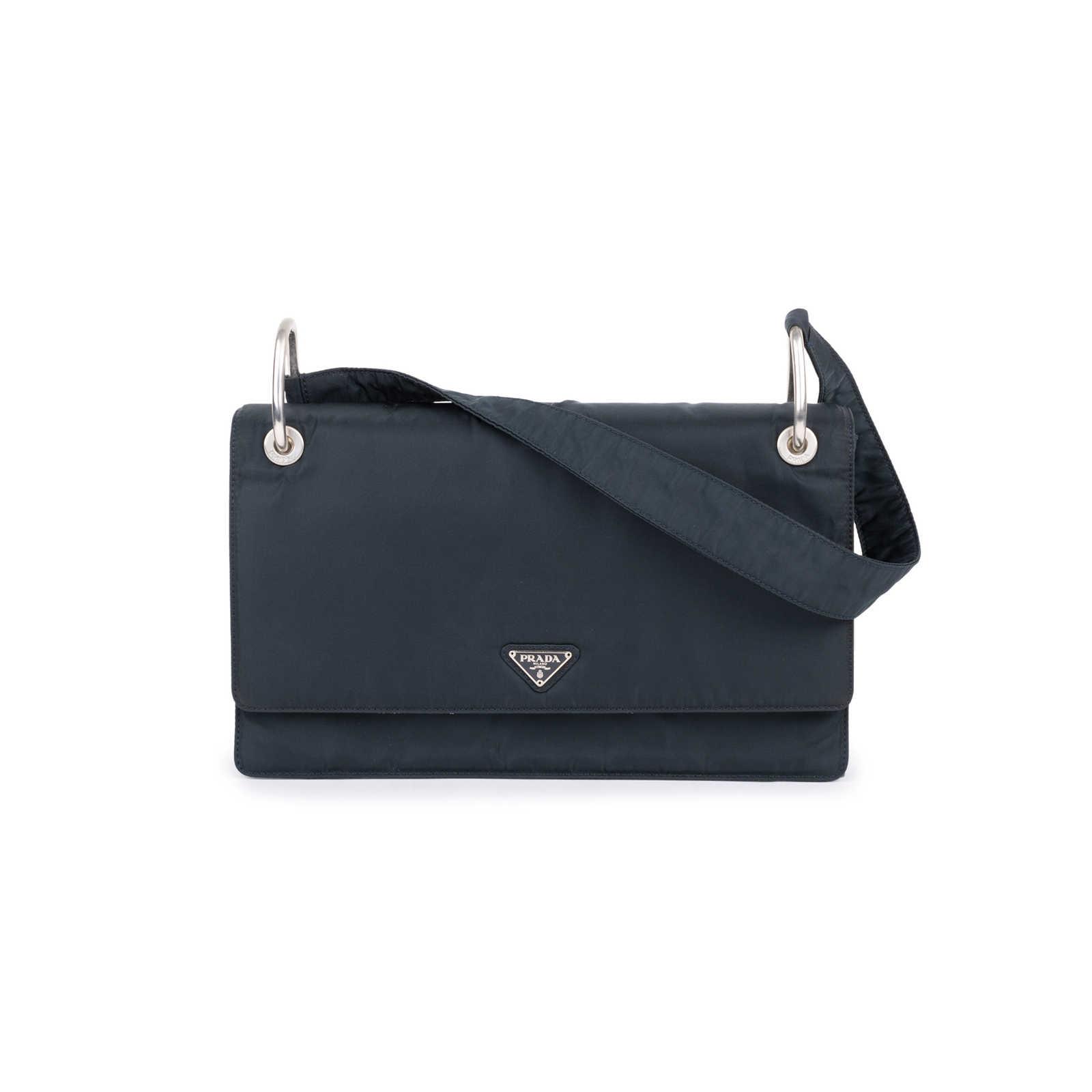70a084d18bed Authentic Second Hand Prada Borsa Tessuto Shoulder Bag (PSS-594-00018) ...