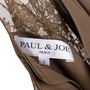 Authentic Second Hand Paul & Joe Olive Lace Sleeve Top (PSS-594-00021) - Thumbnail 2