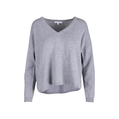 Authentic Second Hand Paul & Joe Sister Grey Wool Sweater (PSS-594-00020)