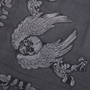 Authentic Pre Owned Alexander McQueen Skull Embroidered Scarf (PSS-193-00090) - Thumbnail 3