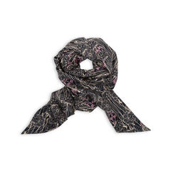 Abstract Skull Forest Scarf