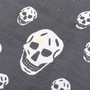 Authentic Pre Owned Alexander McQueen Classic Skull Scarf (PSS-193-00098) - Thumbnail 3