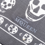 Authentic Pre Owned Alexander McQueen Classic Skull Scarf (PSS-193-00098) - Thumbnail 4