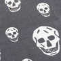Authentic Pre Owned Alexander McQueen Classic Skull Scarf (PSS-193-00098) - Thumbnail 6