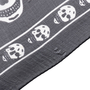 Authentic Pre Owned Alexander McQueen Classic Skull Scarf (PSS-193-00098) - Thumbnail 7