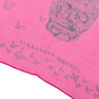 Authentic Pre Owned Alexander McQueen Skull Butterfly Scarf (PSS-193-00100) - Thumbnail 3