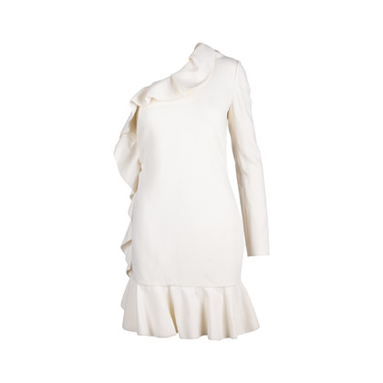 Authentic Second Hand Emilio Pucci Ruffle One Shoulder Dress (PSS-014-00054)