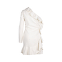 Authentic Second Hand Emilio Pucci Ruffle One Shoulder Dress (PSS-014-00054) - Thumbnail 1