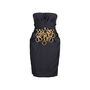 Authentic Second Hand Moschino Ringlet Bustier Dress (PSS-014-00055) - Thumbnail 0