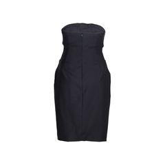 Moschino ringlet bustier dress 2?1546917574